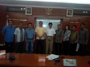 Pansus DPRD Kota Manado tentangn Ranperda Pengelolaan Air Tanah, saat konsultasi di Kementerian ESDM.